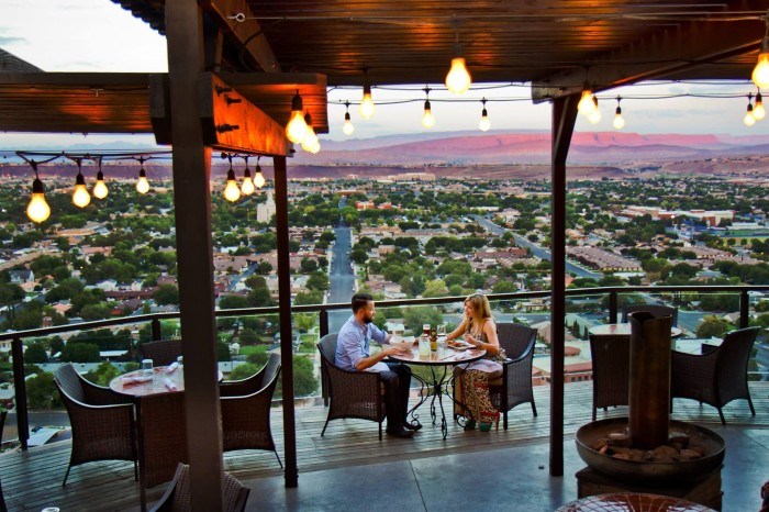 7) Cliffside Restaurant, St. George