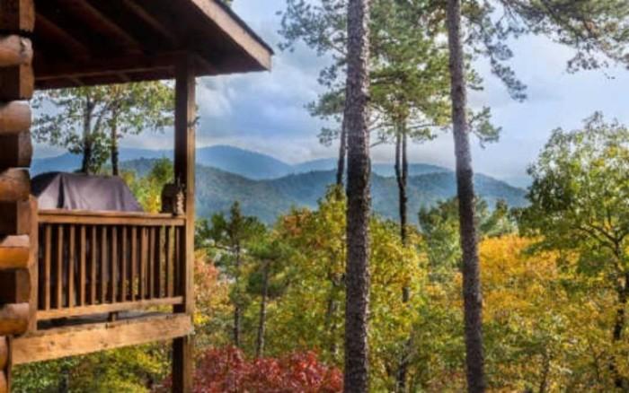7. Happy Place Cabin in Blue Ridge, GA