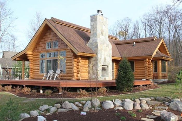 11. Next door is Overholser Lodge Guest Cabin!