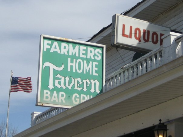 8) Farmer's Home Tavern, Hemlock