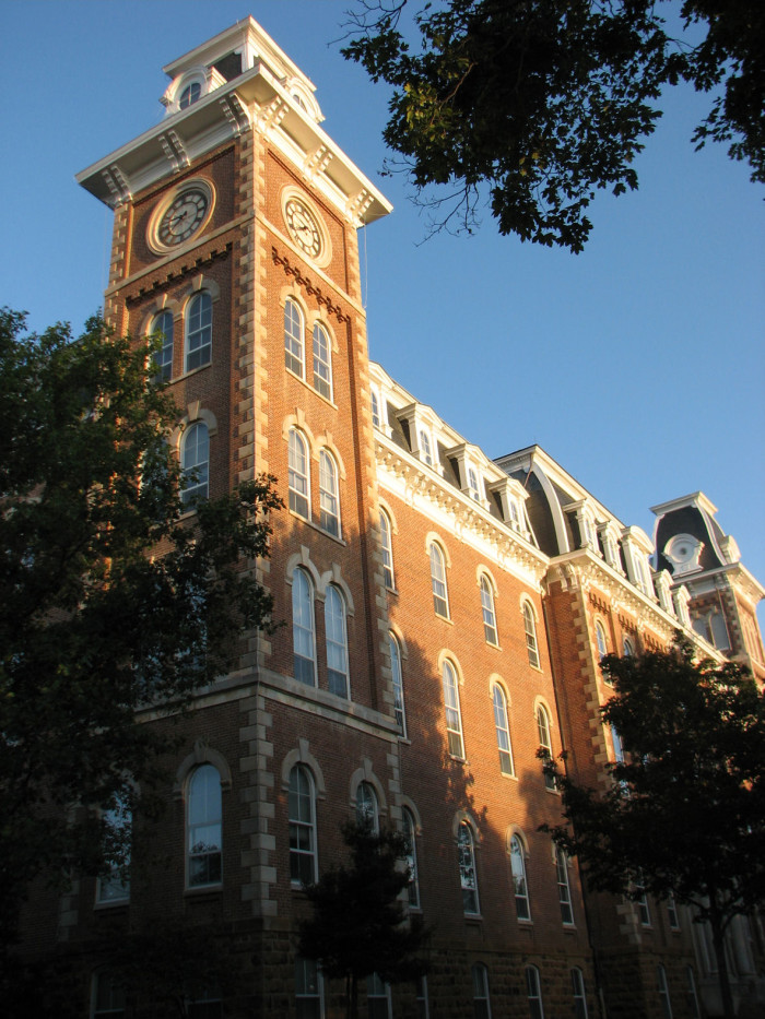 1. University of Arkansas at Fayetteville