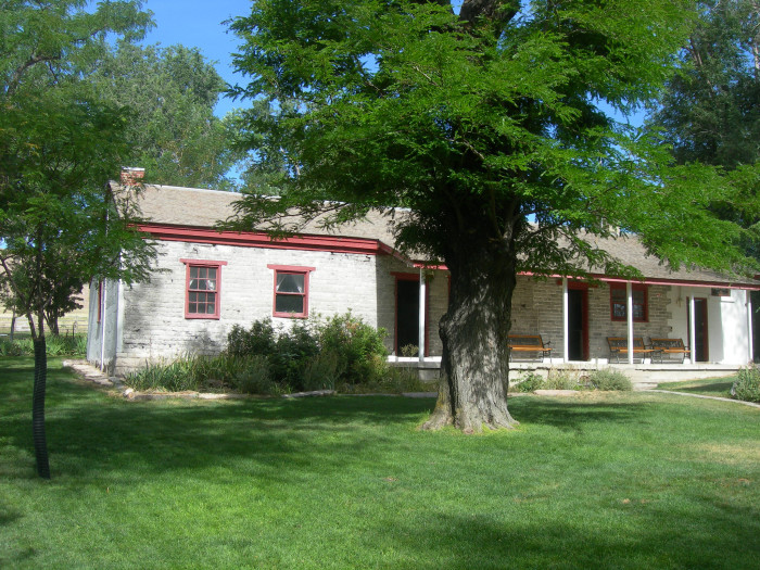 2) Fielding Garr Ranch House