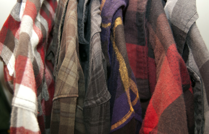 8. You start seeing flannel everywhere...