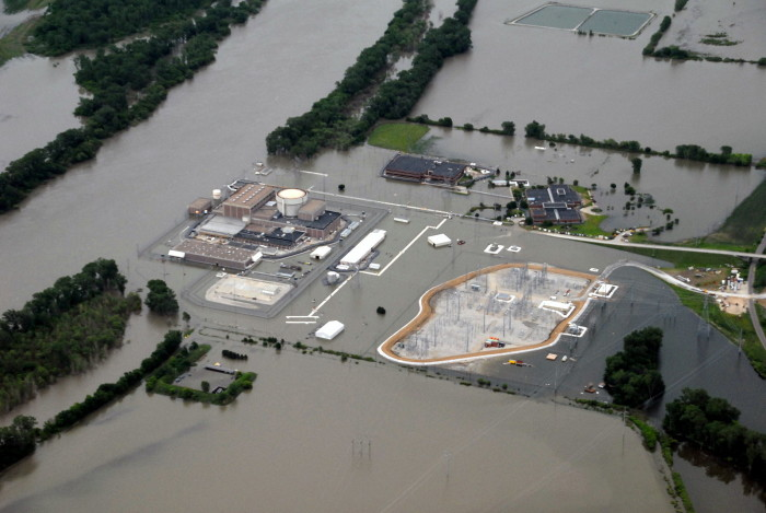 When the Fort Calhoun nuclear power plant flooded in 2011