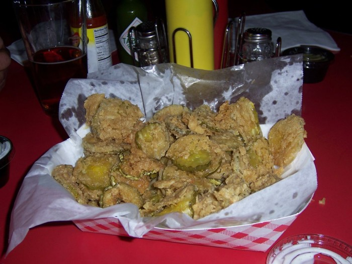 14) Fried Pickles
