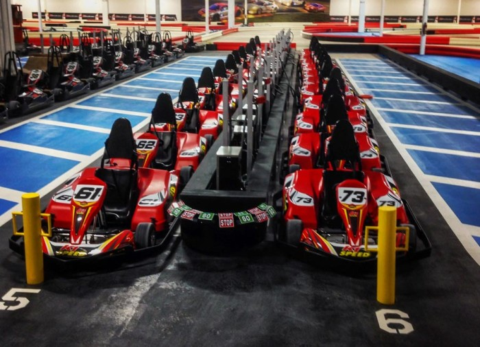 1. Anyone up for some Go-Kart Racing?