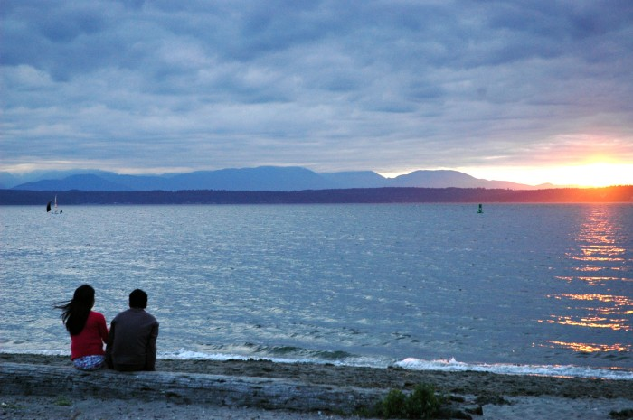 9. Golden Gardens Beach, Seattle
