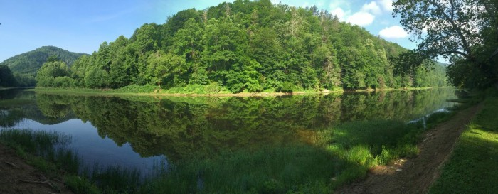 9. The Greenbrier River Trail