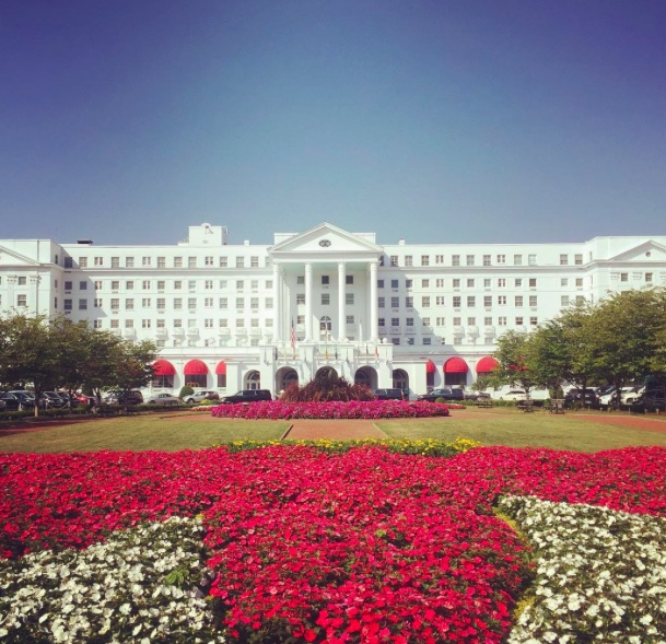 2. Or The Greenbrier resort even when there's no golf tournament