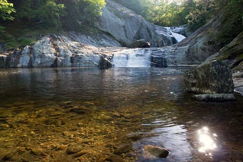 3. Harper Falls, Wilson Creek, 1.6 mi.