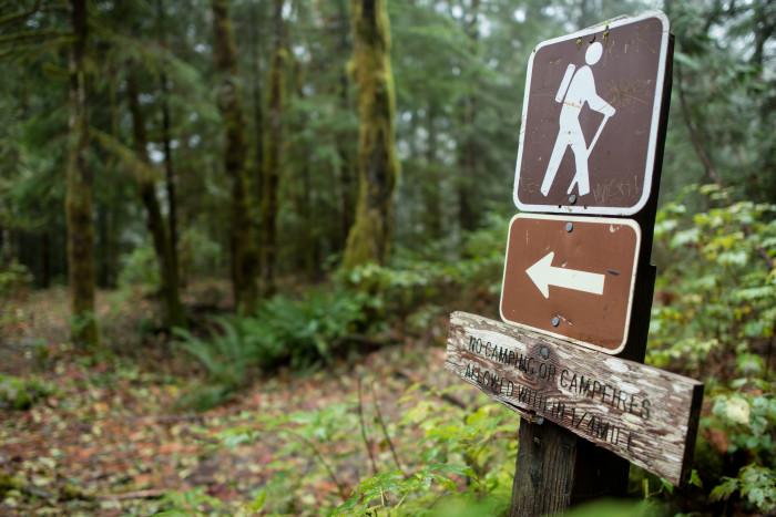 10. Take a hike and breathe in the fresh air.