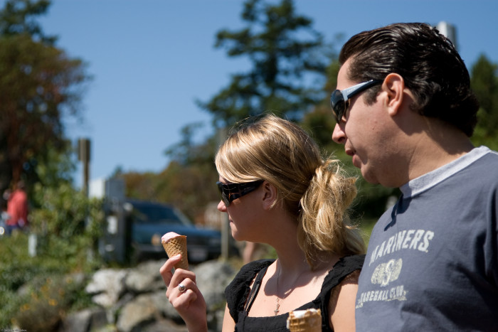 7. Treat yourself to some local handmade ice cream, gelato, froyo, or any frozen sweetness.
