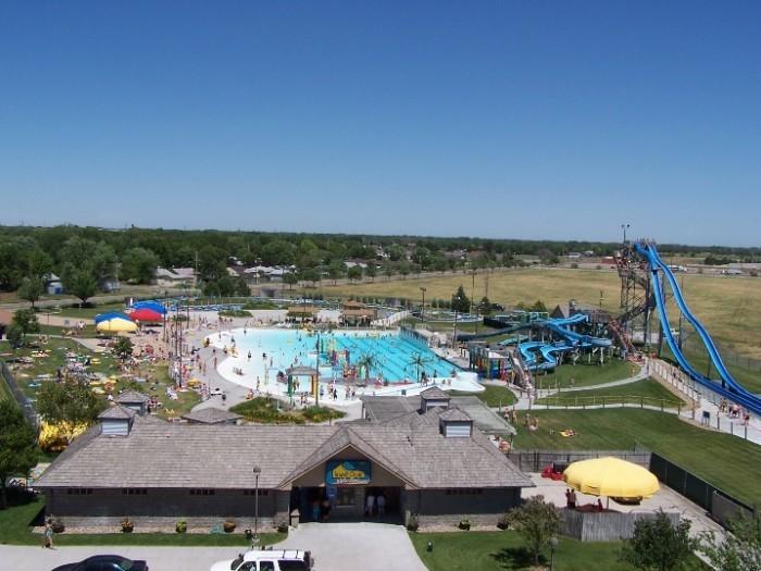 ...Or visit one of Nebraska's water parks.