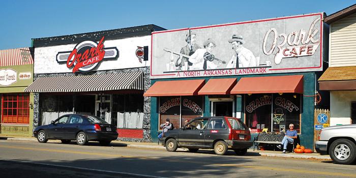 3. Jasper, Arkansas