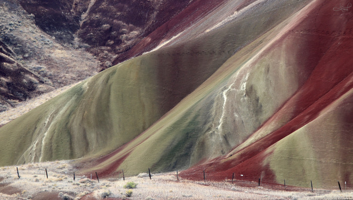 5) John Day Fossil Beds