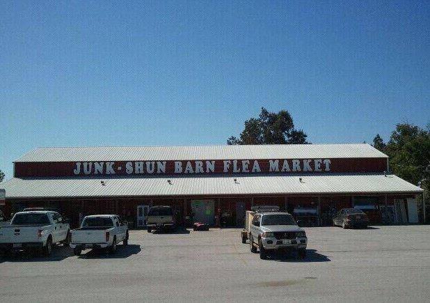 20. Junk-Shun Barn Flea Market