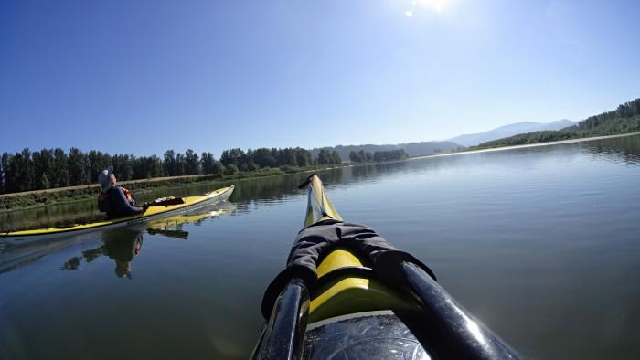 8. Go kayaking or canoeing...