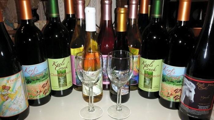 6. Keels Creek Winery