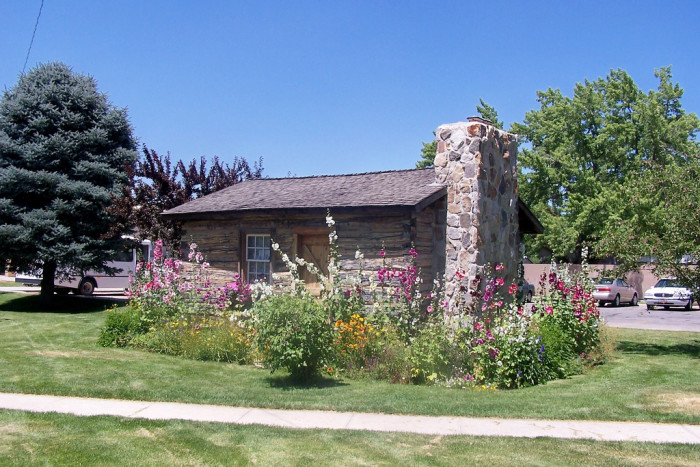 18) William Knudsen Cabin, Brigham City