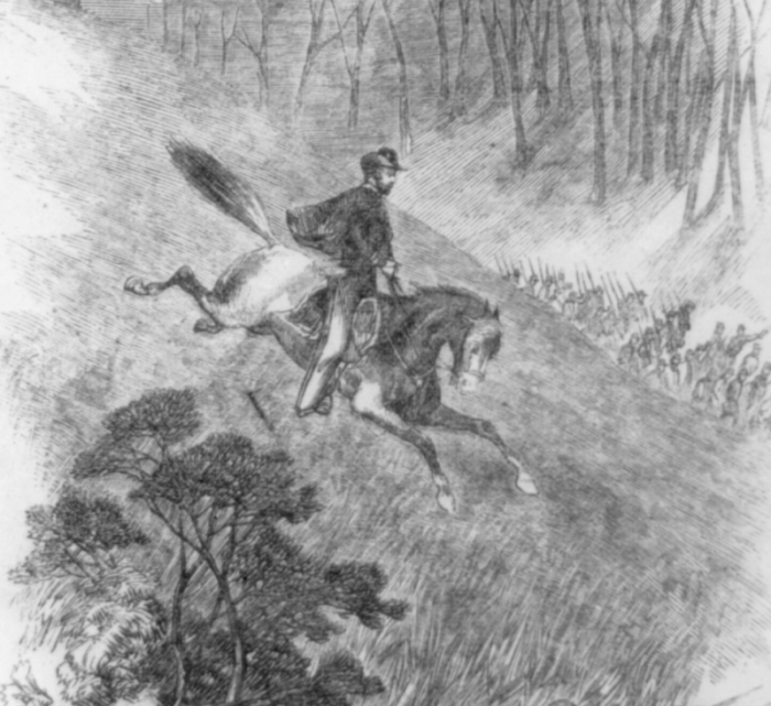 5. Land that became part of West Virginia was where the first land battle of the Civil War took place.