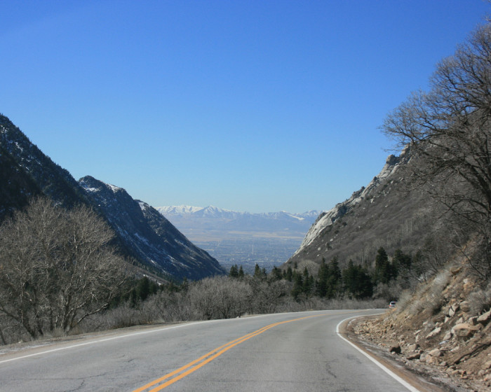 9) Little Cottonwood Creek Valley