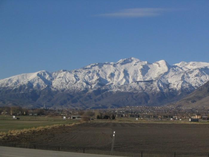 6) Lone Peak