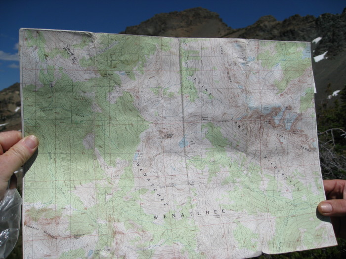 3. Maps, compass, or GPS