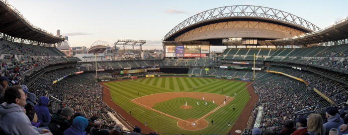 4. Make a road trip out to Safeco Field in Seattle and enjoy America's favorite pastime at a Mariners game.