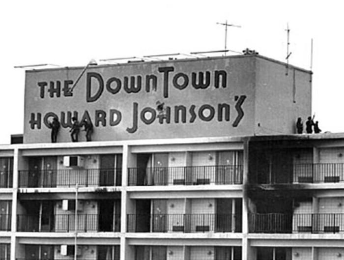 January 7th, 1973 – Mark Essex, the Howard Johnson's Sniper