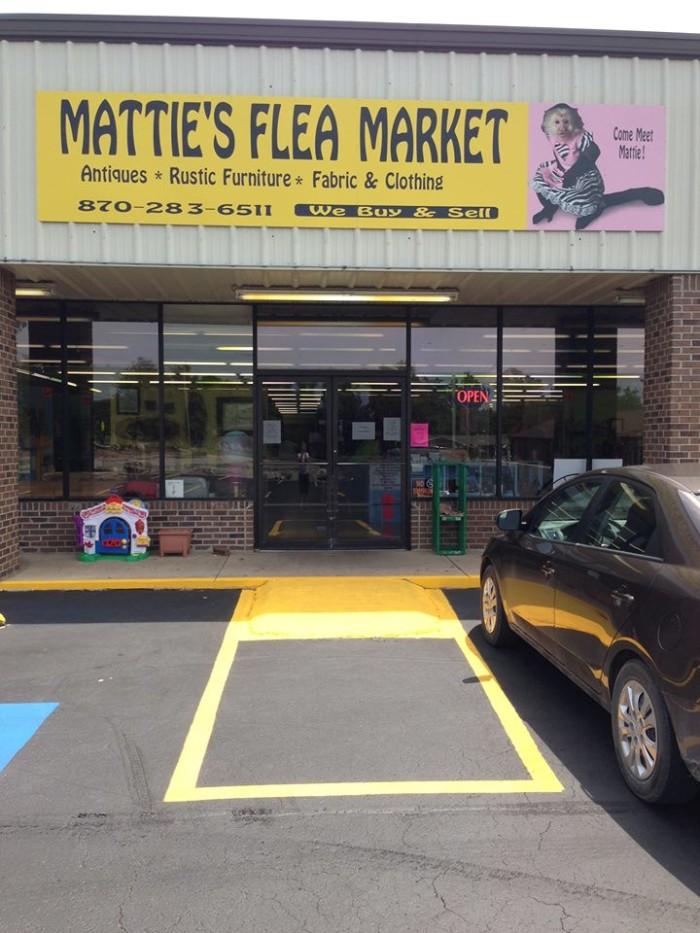 7. Mattie's Flea Market