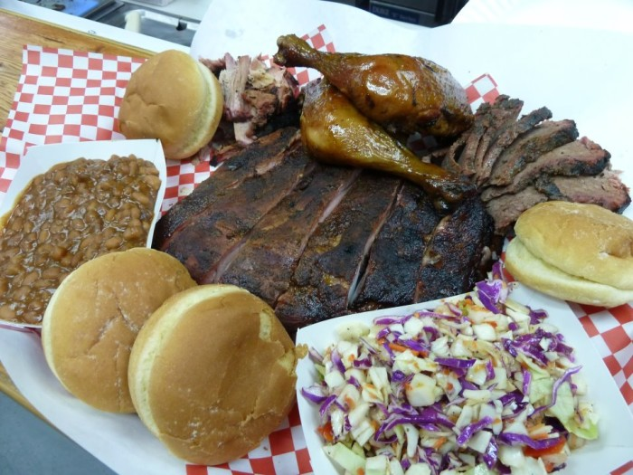 10. Mike's Four Star BBQ, Port Gamble