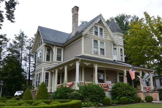 11. The Morris Harvey House in Fayetteville