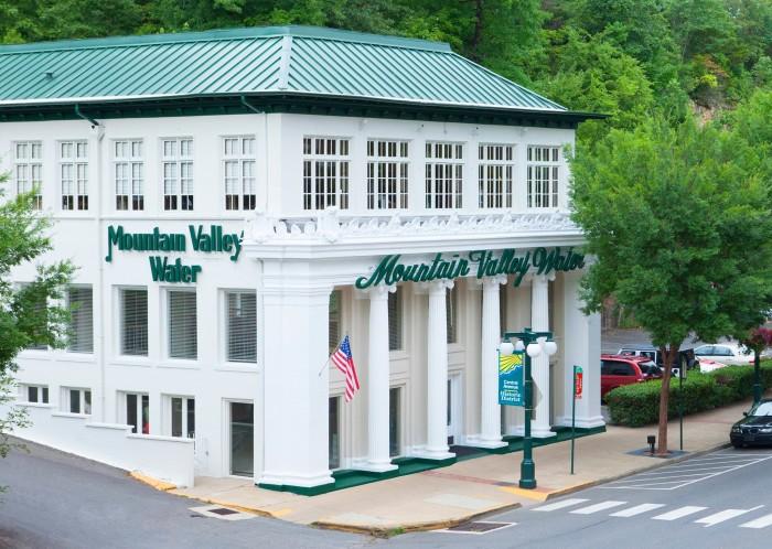 4. Mountain Valley Spring Water Company Garden