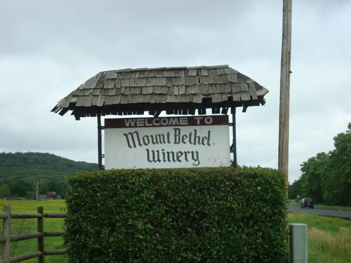 4. Mount Bethel Winery