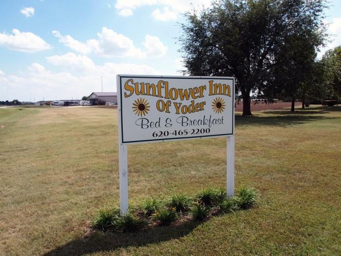 7. Sunflower Inn of Yoder (Yoder)