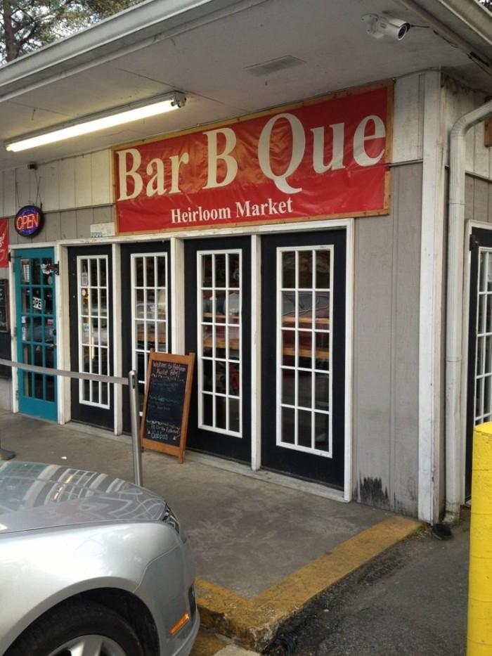 6) Heirloom Market BBQ- 2243 Akers Mill Rd SE, Atlanta, GA 30339