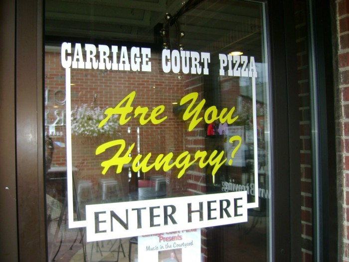 6. Carriage Court Pizzeria