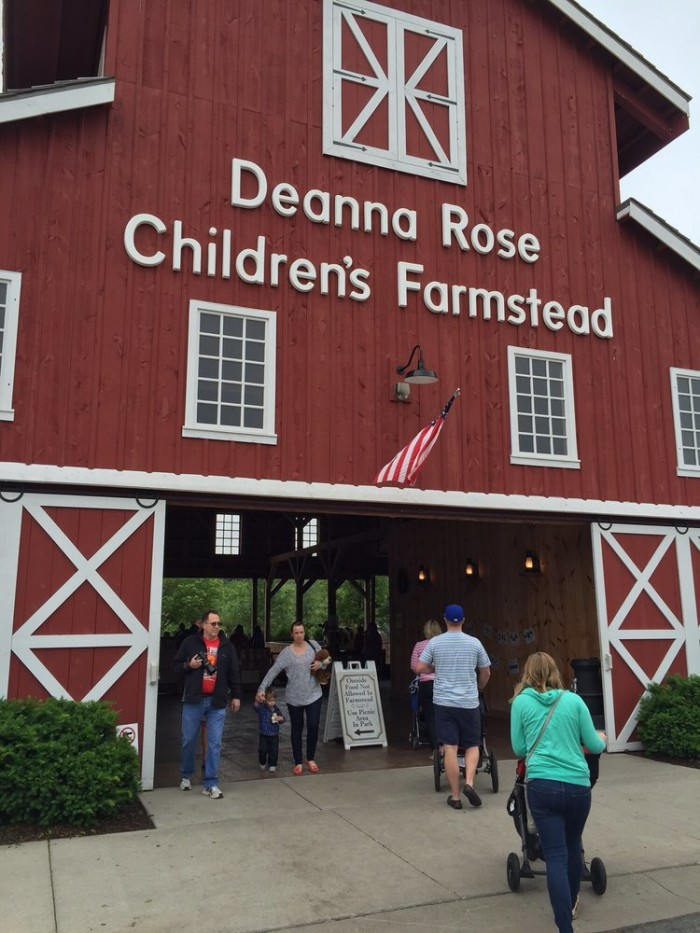 4. Play around at the Deanna Rose Children's Farmstead (Overland Park)