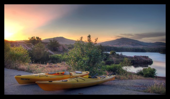 8. You must love the lake and outdoor activities.