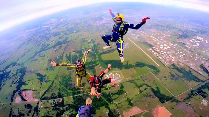 1. Skydive
