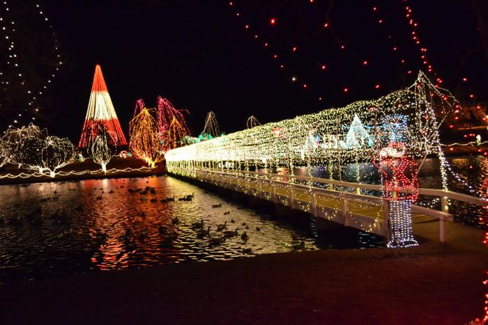 10. Festival of Lights: Chickasha - November & December
