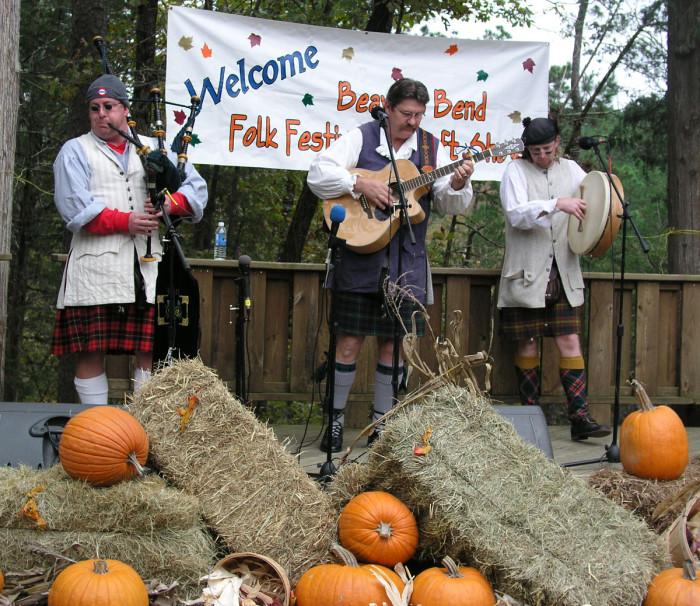 9. Beaver's Bend Folk Festival: Broken Bow -  November
