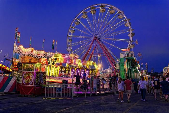 5. Oklahoma State Fair: Oklahoma City - September