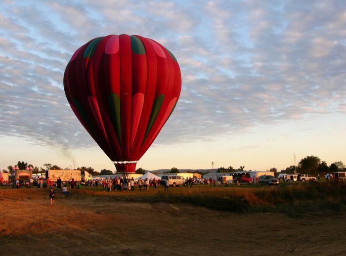 8. Poteau Balloon Fest: Poteau - October