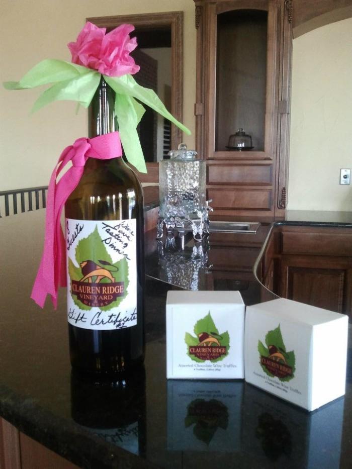 1. Clauren Ridge Vineyard and Winery: Edmond