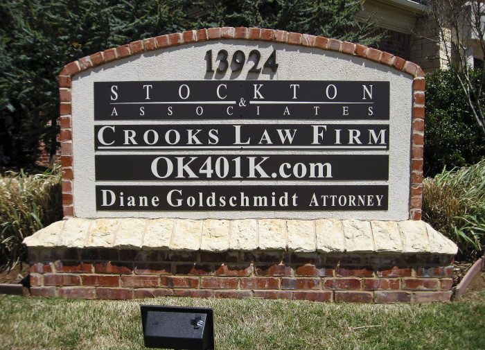 2. The law firm for crooks.