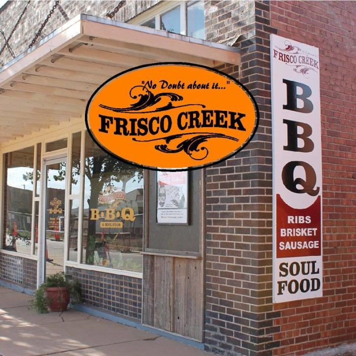 4. Frisco Creek BBQ: Hobart