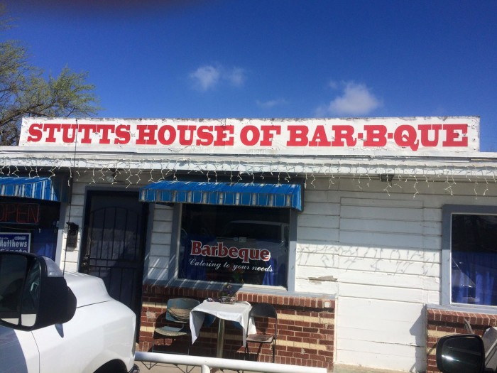 8. Stutts House of Bar-B-Que: Tulsa