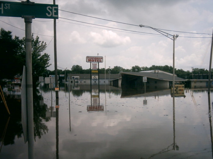 5. Flood waters could drown you.