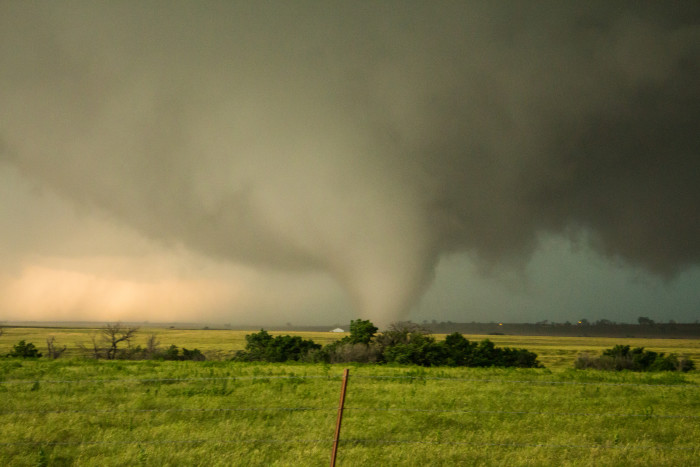 4. Terrifying tornadoes could throw you all the way to Kansas.